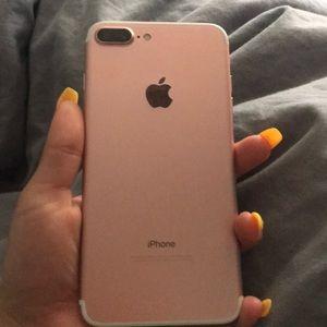 An iPhone 7 Plus